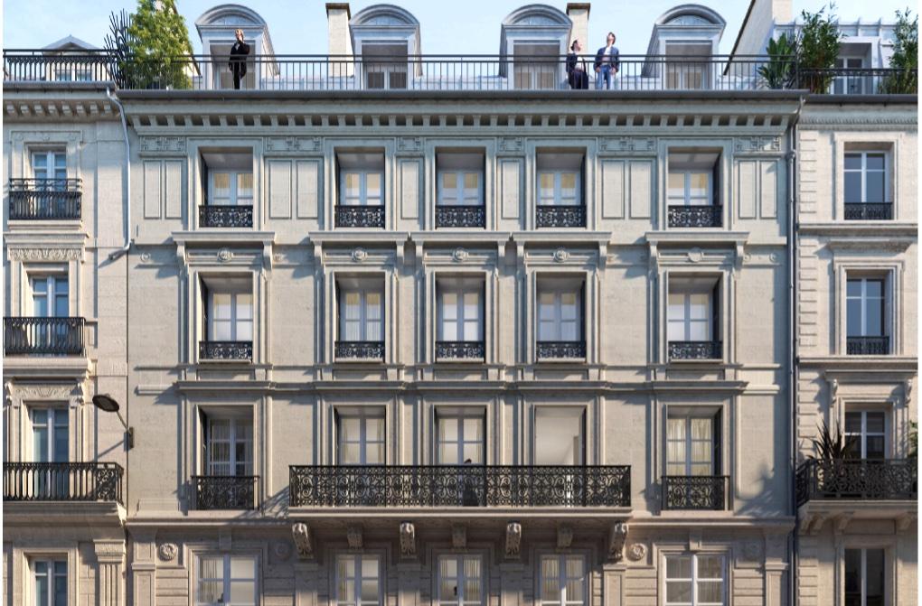 Le 20 rue de la Banque, à Paris, doit être restructuré par le Studio Vincent Eschalier