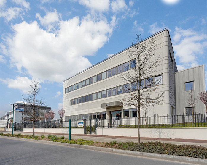L'ensemble d'immeubles du 239 rue des Caboeufs à Gennevilliers