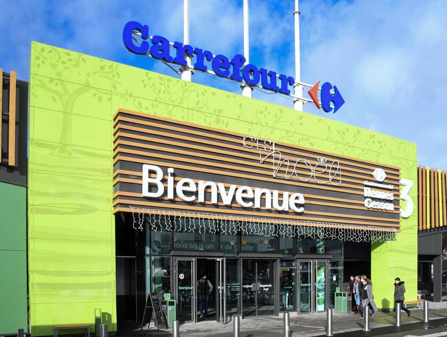 Un centre Carmila à Rennes-Cesson. © Carmila