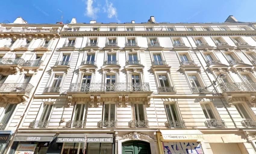 Le 10 Châteaudun à Paris 9, dans lequel la SCPI Sofiprime s'est offert 240 mètres carrés. © Google Maps