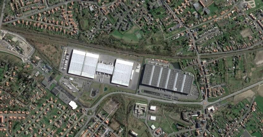 L'entrepôt de Simastock à Libercourt. © Google Maps