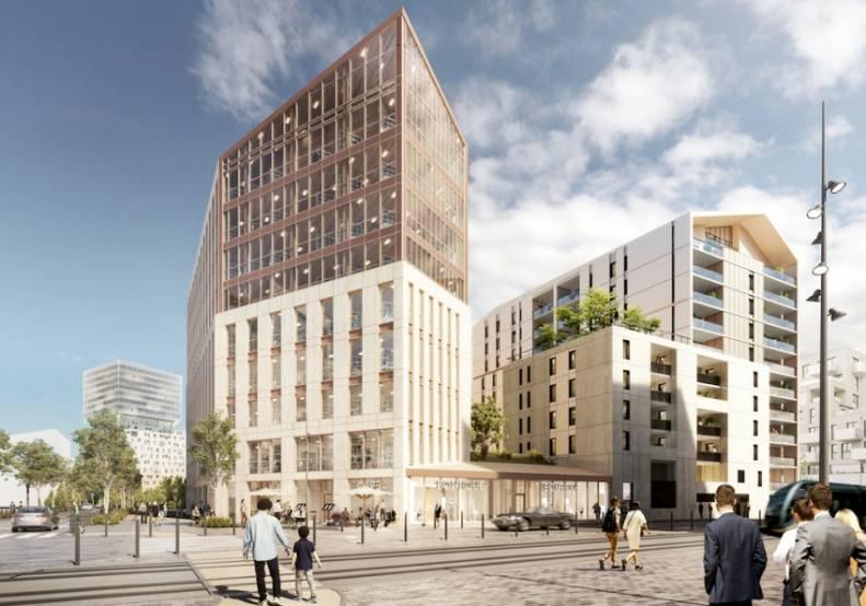 Les bureaux du projet Silva à Bordeaux.