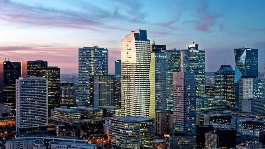 Imaginée par JP Viguier, la tour Majunga est l'une des plus modernes de La Défense. © JP Viguier