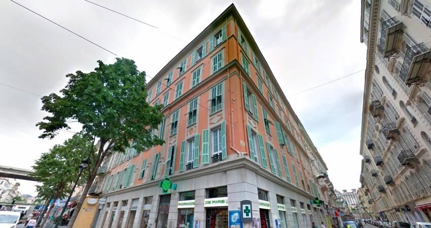 Le 60 Jean Médecin, dans le centre-ville de Nice. © Google Maps