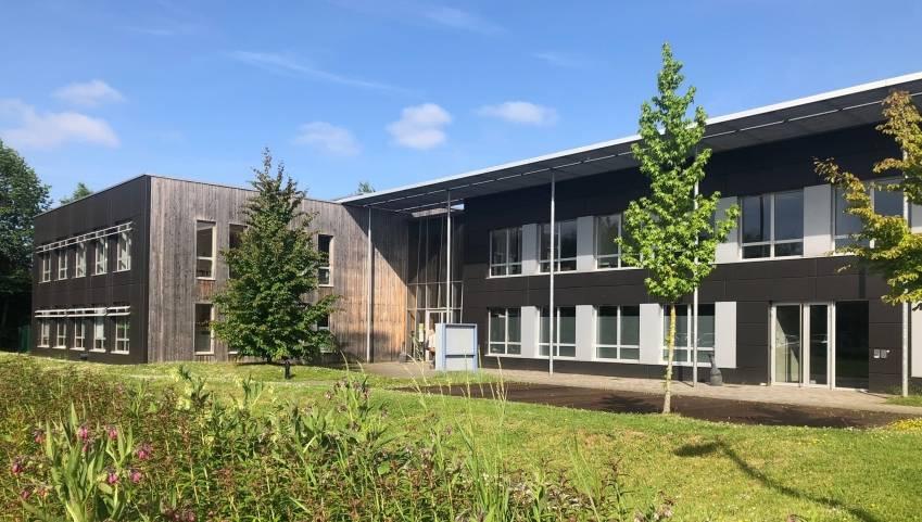 Le bâtiment 6 du parc de la Haute Borne, à Villeneuve d'Ascq.