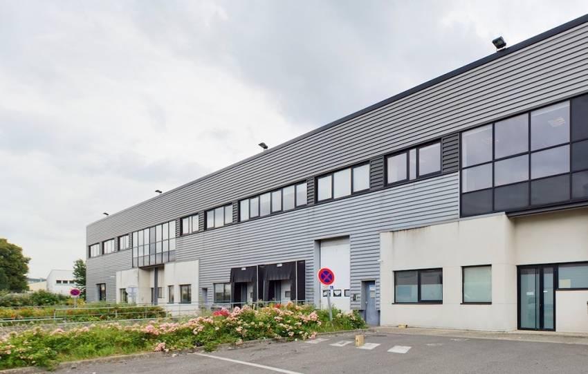 L'entrepôt de logistique urbaine situé à La Courneuve.