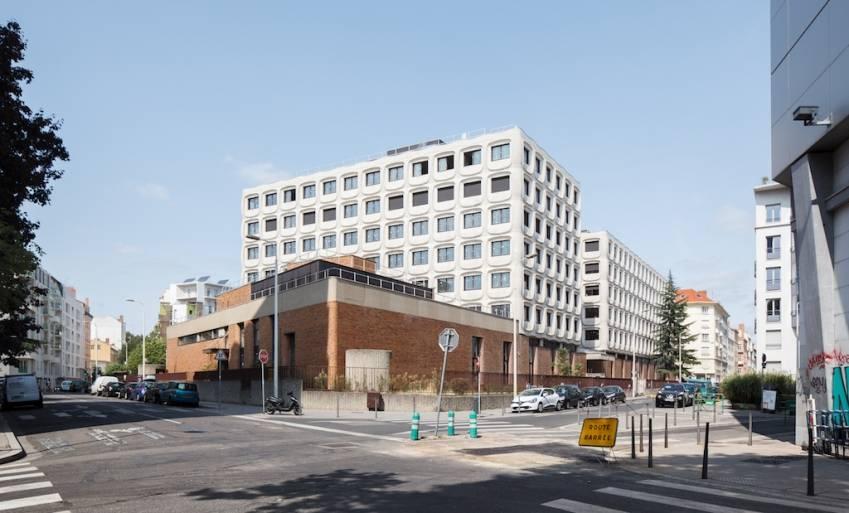L'immeuble 288, à Lyon - © Kevin Dolmaire