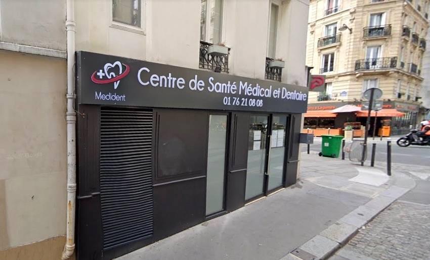 Le centre de santé Medident, Paris 5. © Google Maps