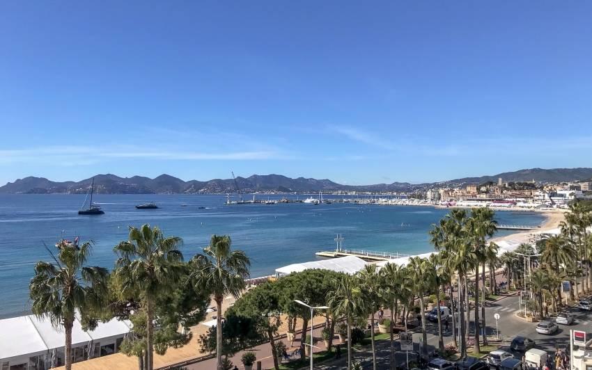 Le soleil était au rendez-vous pour la 30e édition du Mipim, à Cannes. © CFNEWS IMMO