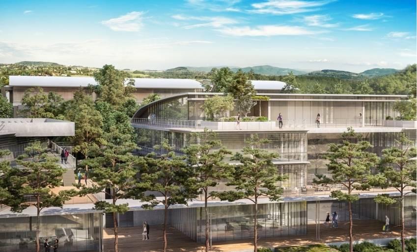 Le Centrium, qui accueillera notamment le site Flex'O de Sophia Antipolis.