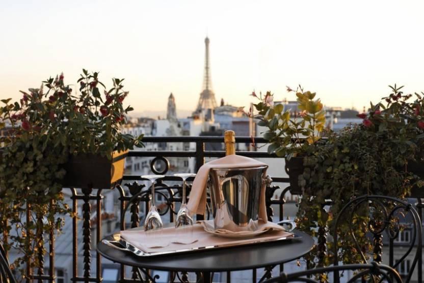 Le 5* Balzac à Paris. DR