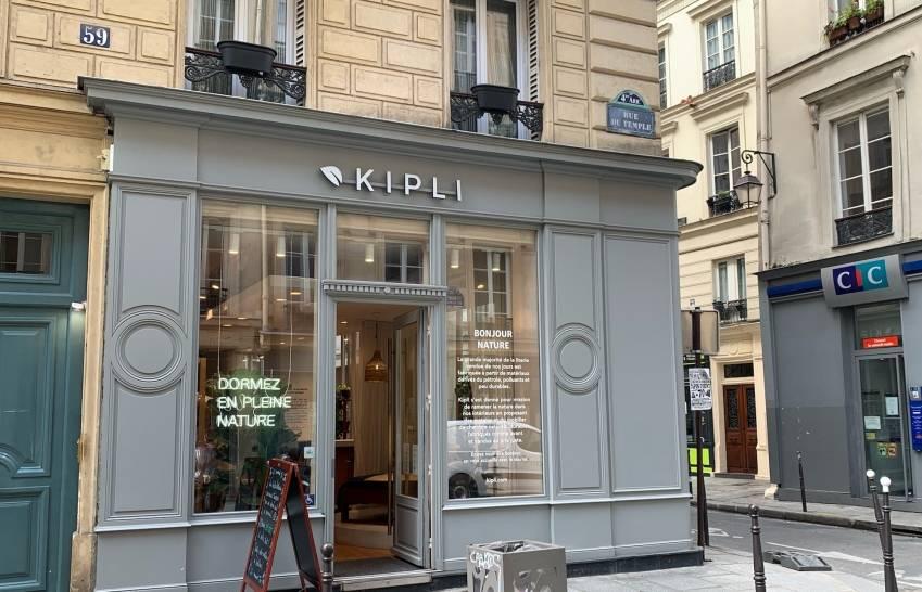Le magasin Kipli au 59 Temple, à Paris 4.