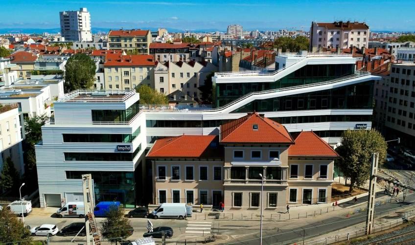 Le siège social d'Implid, à Lyon. © em2c
