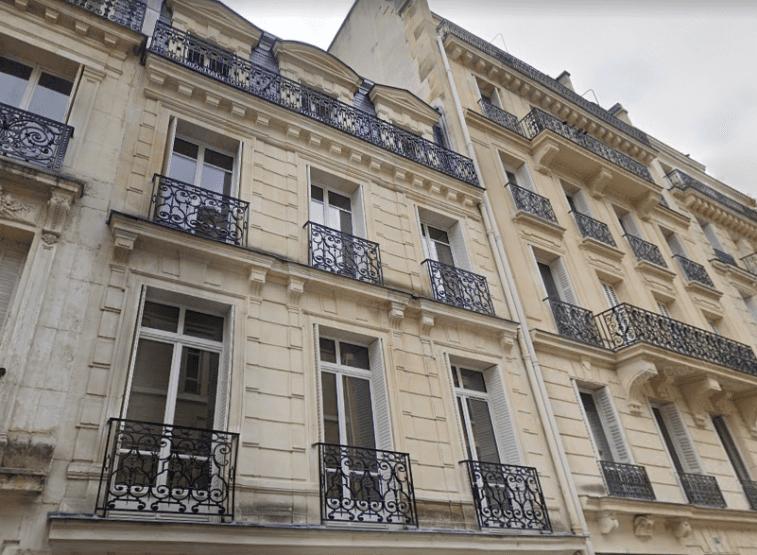 Le 11 rue Chardin, à Paris 16e. © Maps