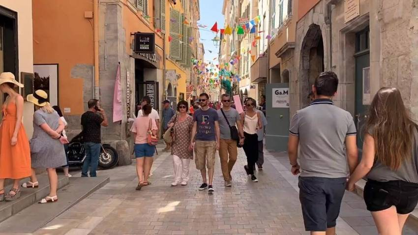 Le secteur de la Rue des Arts, Toulon.