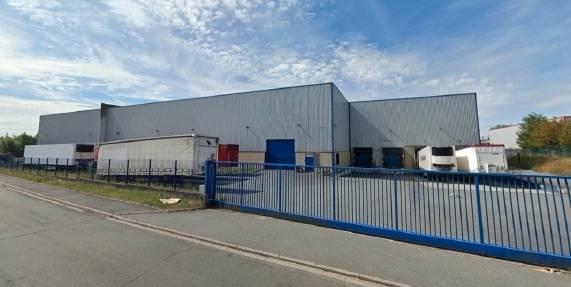 L'entrepôt de SLM près de Lille.