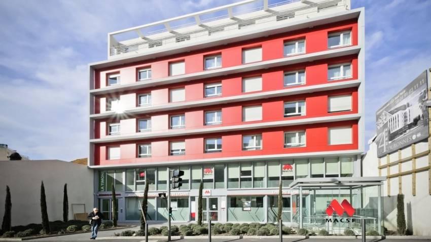 La résidence étudiante Twenty Campus à Marseille. © MACSF