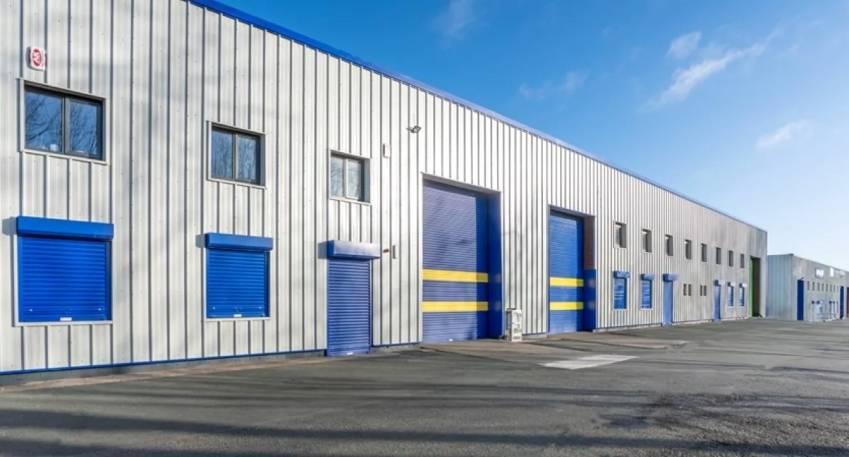 Un entrepôt détenu par M7 Real Estate, aux Pays-Bas. © M7 Real Estate