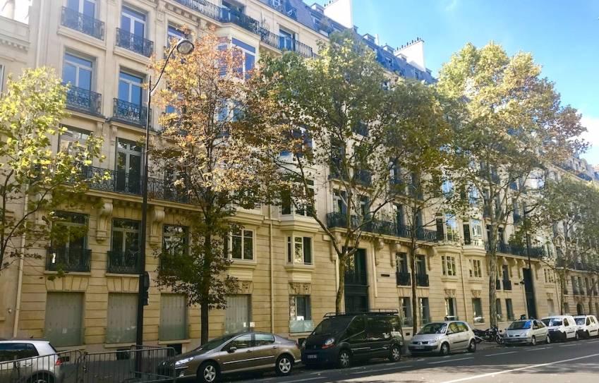 L'ensemble immobilier acquis par Stam Europe, Paris 17