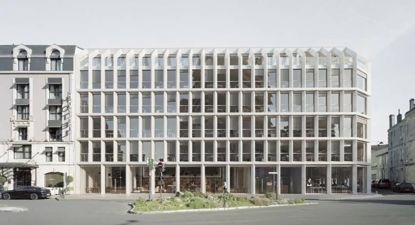 Le projet Infina, à Bordeaux. © Faye Architecture