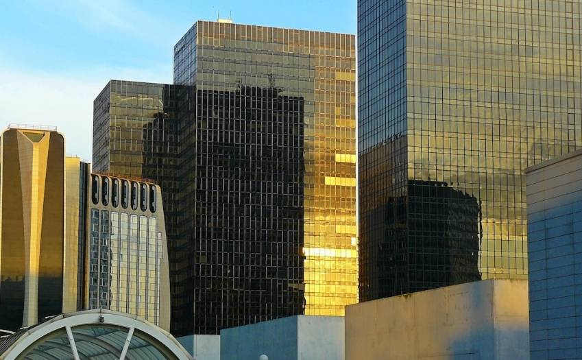 Le marché des bureaux de La Défense. © Cocoparisienne