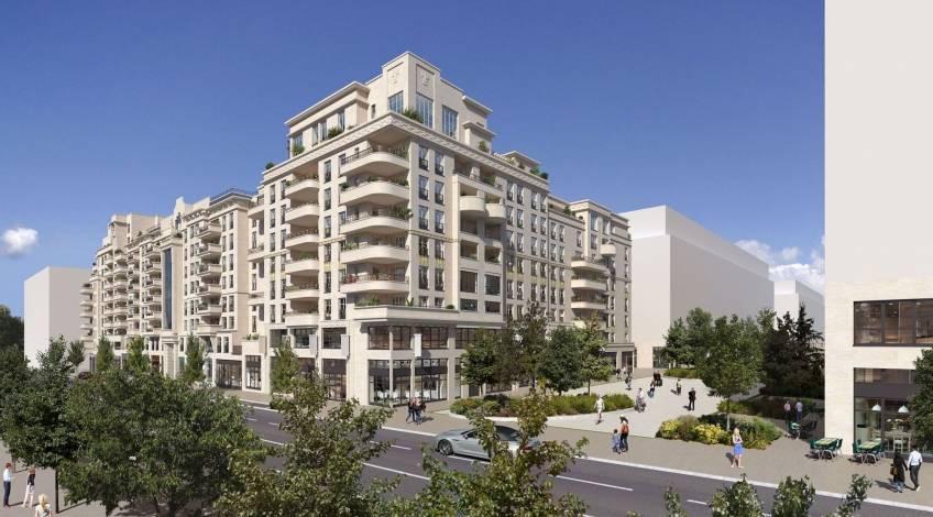 Le programme résidentiel acheté par CDC Investissement Immobilier à Saint-Ouen. © Marc Farcy Architecte