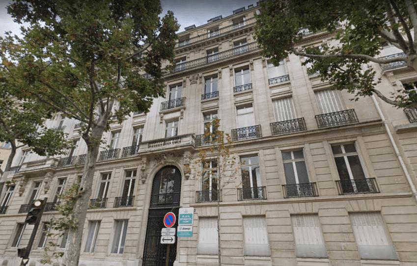 Le 186 avenue Victor Hugo, dans le 16e arrondissement de Paris.