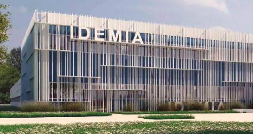 Le site d'Idemia à Osny.