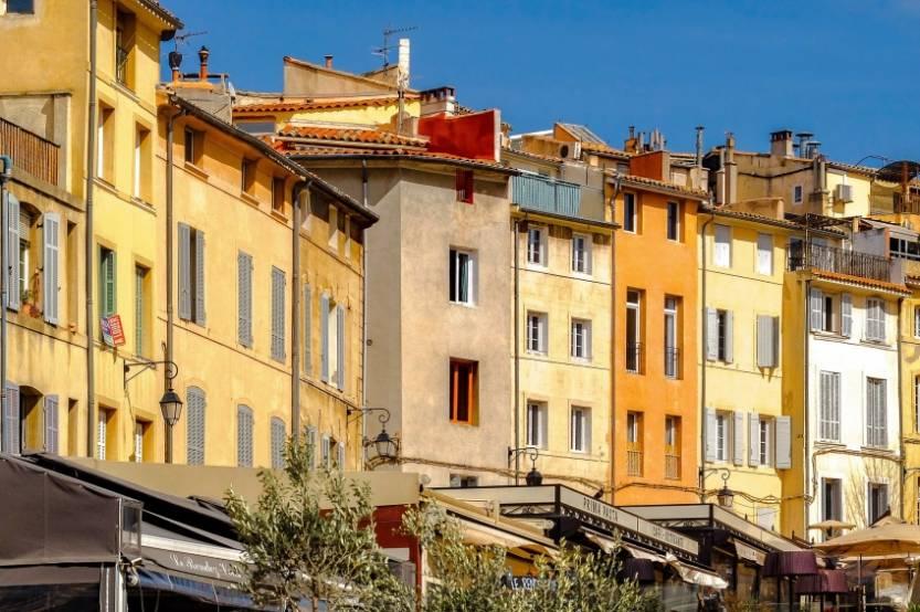 Vue d'Aix-en-Provence.