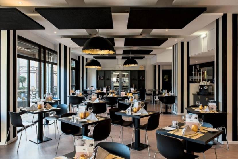 Le restaurant du Mercure Tours Sud. © Atypio