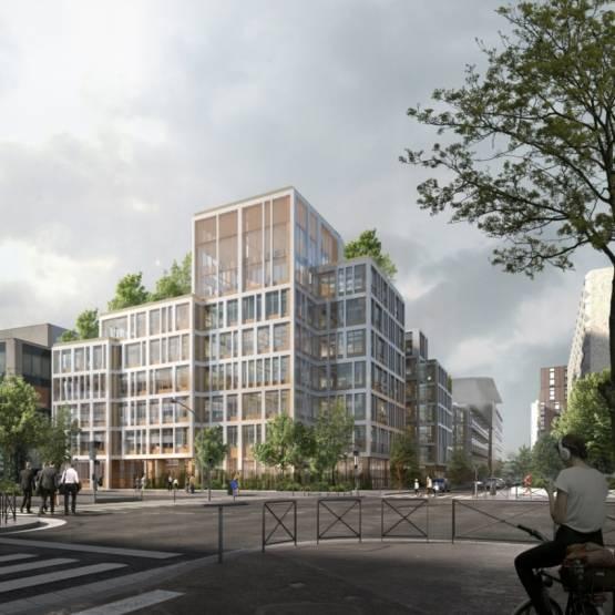 Le projet Montrouge de Gecina Porte Sud © Agence SCAU