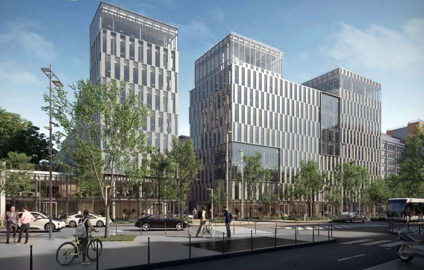 Le projet Link-It, composé de deux bâtiments à Clichy.