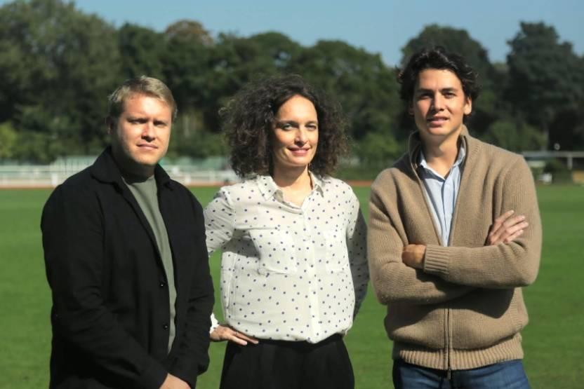 L'équipe fondatrice d'Altacasa : Axel Talmet, Maureen Houel et Romain Saint Guilhem.