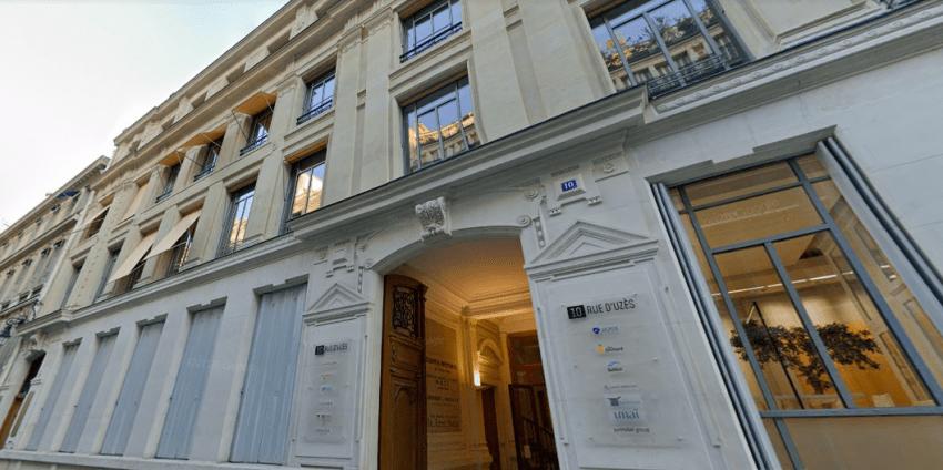 Le siège de Theoreim à Paris, au 10 rue d'Uzès. © Maps