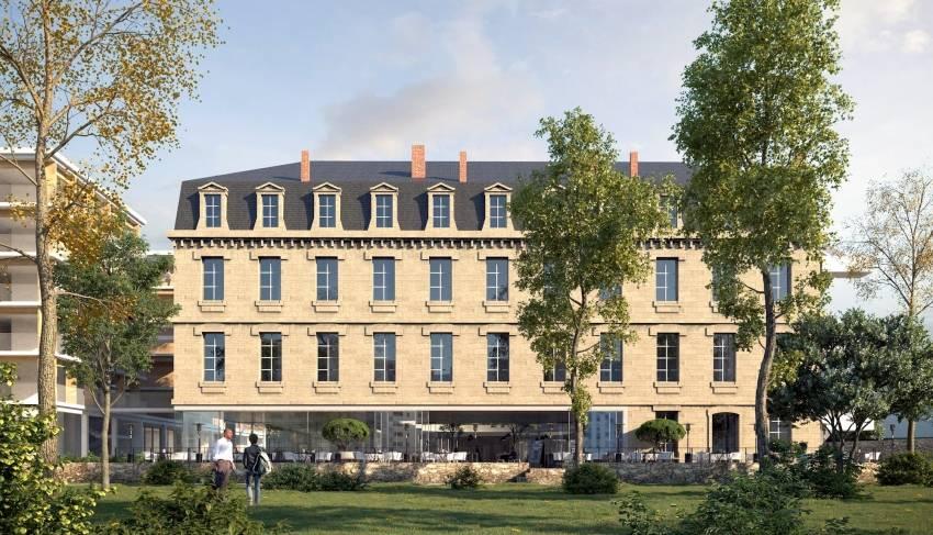 La future résidence The Babel Community à Bordeaux.