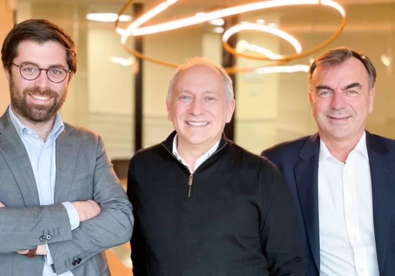 Charles de Guerry, Hervé Fonta et Jean-Christophe Bourreille, Meeschaert CP.