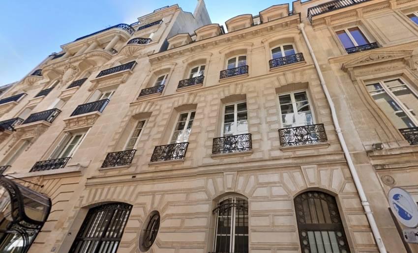 Le 27 Vernet, dans le 8e arrondissement de Paris. © Google Maps