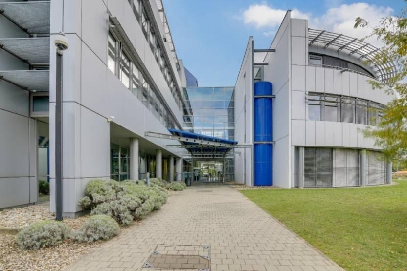 L'immeuble de bureaux acquis par Sofidy près de Strasbourg.
