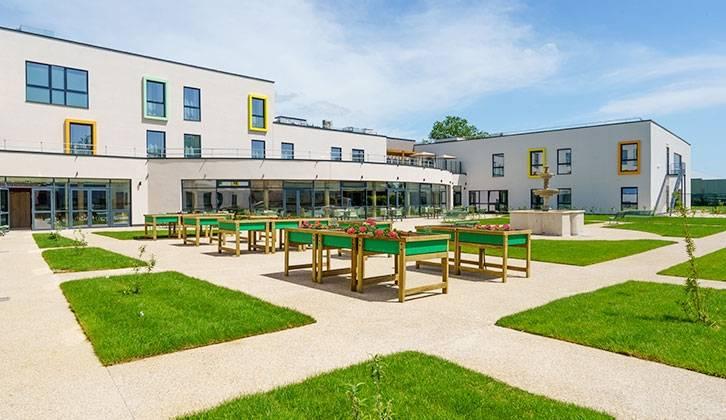 La maison de retraite de Maisoncelles-en-Brie a profité du renouvellement du parc de DomusVi via des OPCI.