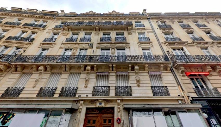 Le 35 Marbeuf, Paris 8. © Google Maps