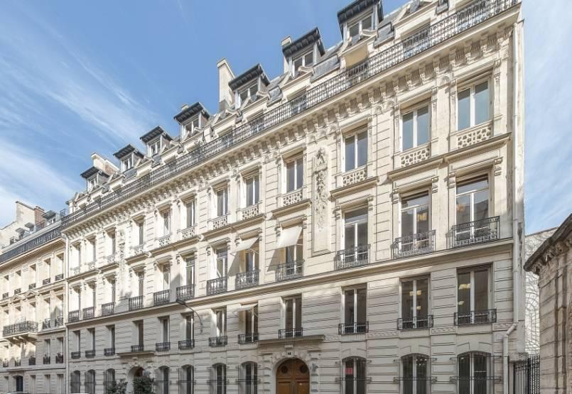 Le 5/7 Coq, Paris 9, siège du cabinet d'avocats Fromont Briens. © JLL France