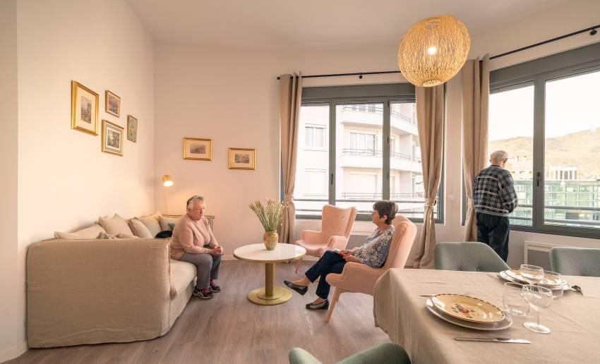 La résidence de coliving pour seniors à Lourdes.