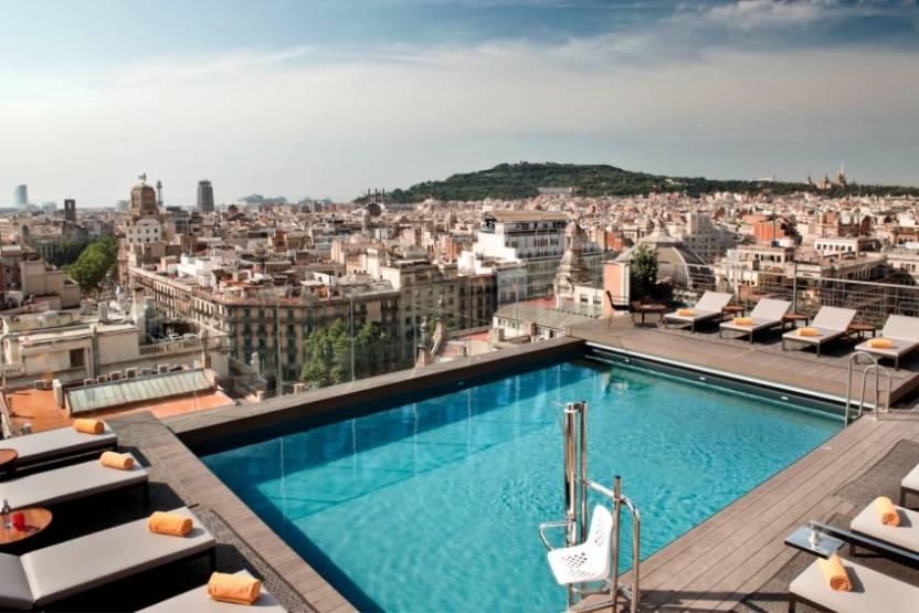 Le 5* NH Collection Barcelona Gran Hotel Calderón.