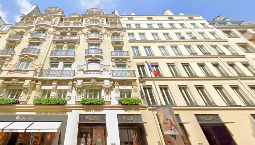 Le 6/12 rue du Faubourg Saint-Honoré, dans le 8e arrondissement de Paris. © Google Maps