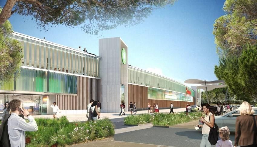Le centre commercial Canto Perdrix situé au 4 chemin des Barboussade à Martigues