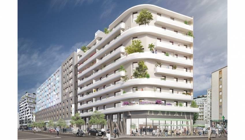 La future résidence de coliving de Kley à Issy-les-Moulineaux.