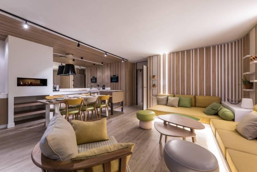 Un des nouveaux cottages de Pierre & Vacances-Center Parcsdans le Lot-et-Garonne.