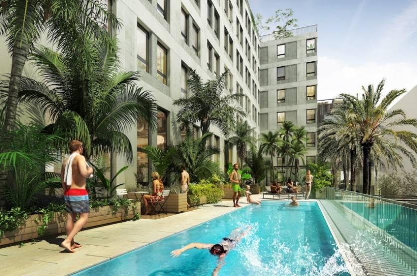 Le projet financé par Natixis à Barcelone.
