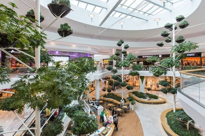 Le Shopping City Süd à Vienne. © URW