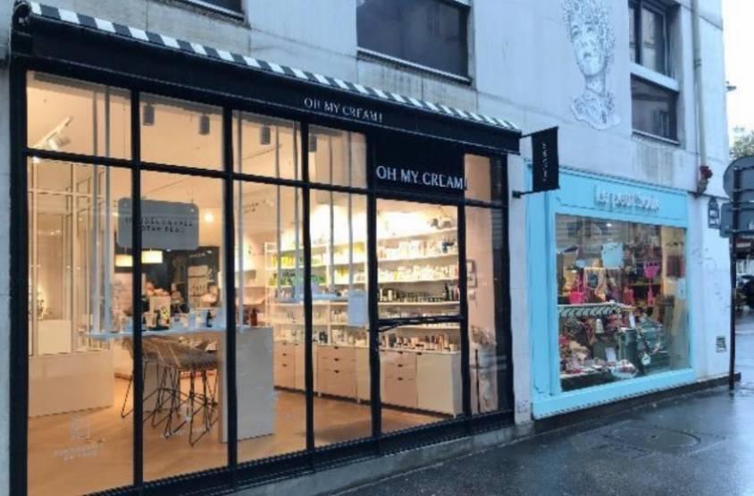Les boutiques Oh my cream et Le Petit Souk, de la rue Vavin, reprise par le fonds HSR.